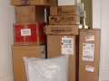Shipments to pack for transport