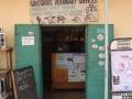 Veterinarian office in city